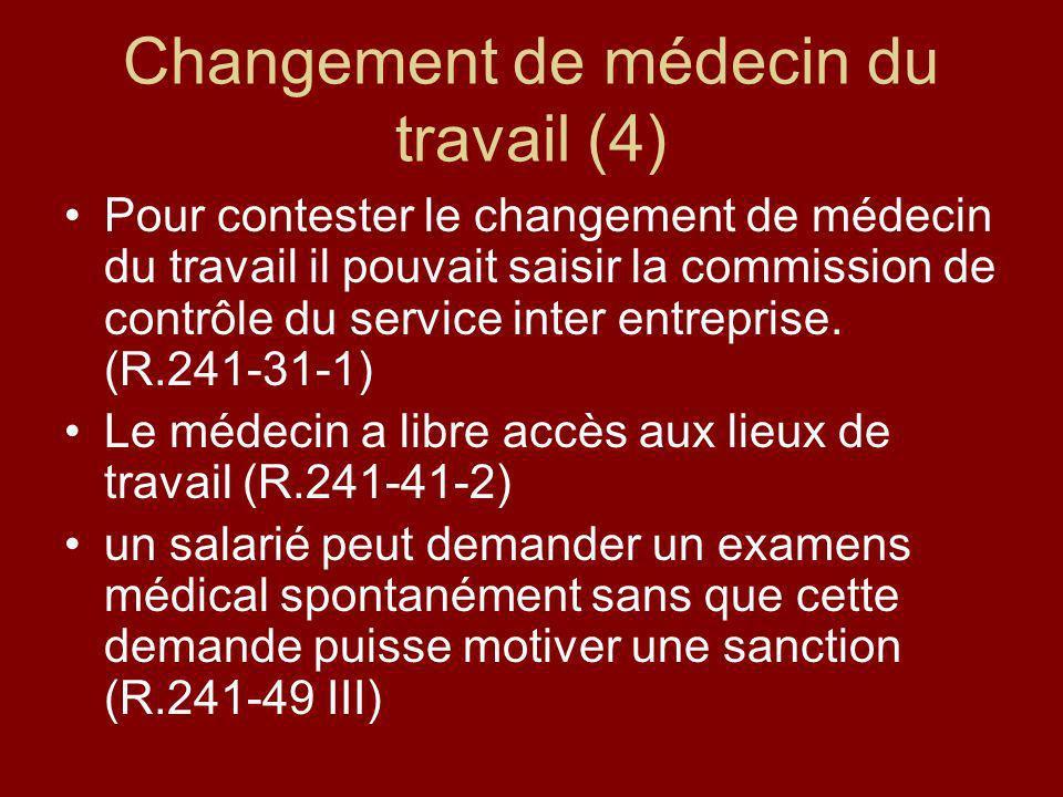 Changement de médecin du travail (4)