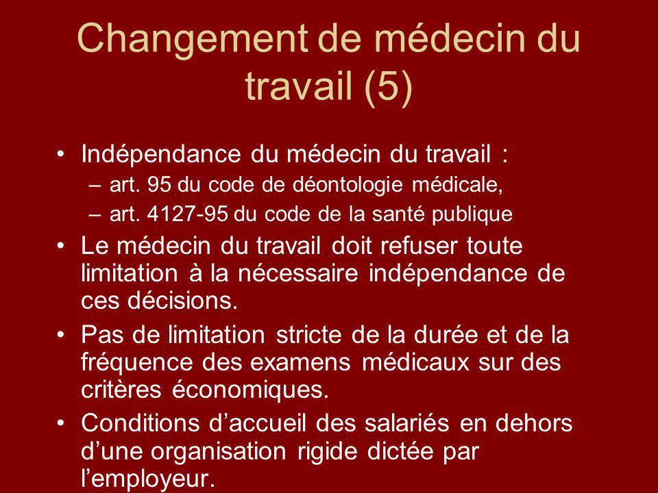 Changement de médecin du travail (5)