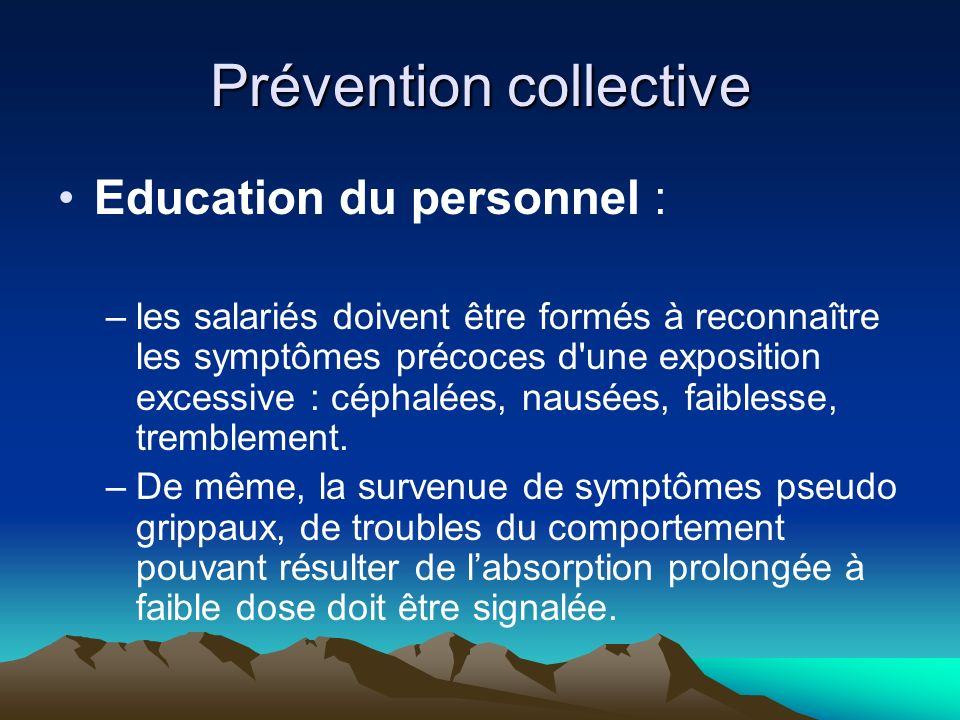 Prévention collective