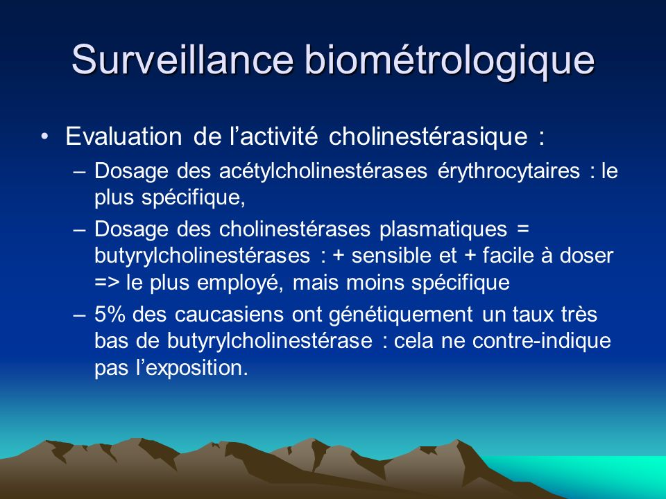 Surveillance biométrologique