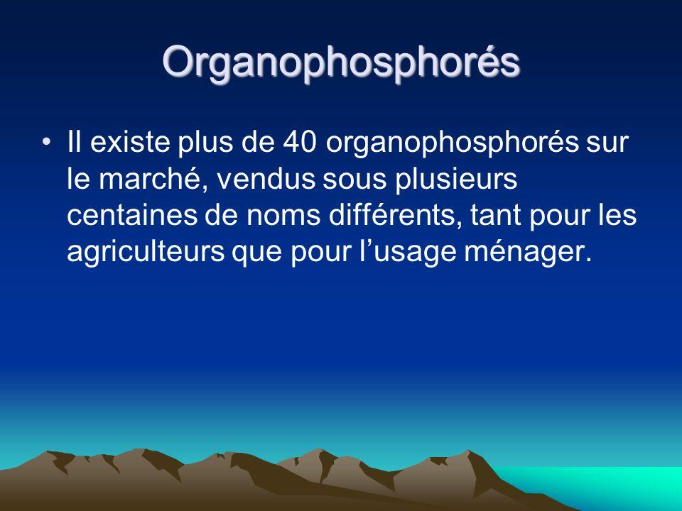 Organophosphorés