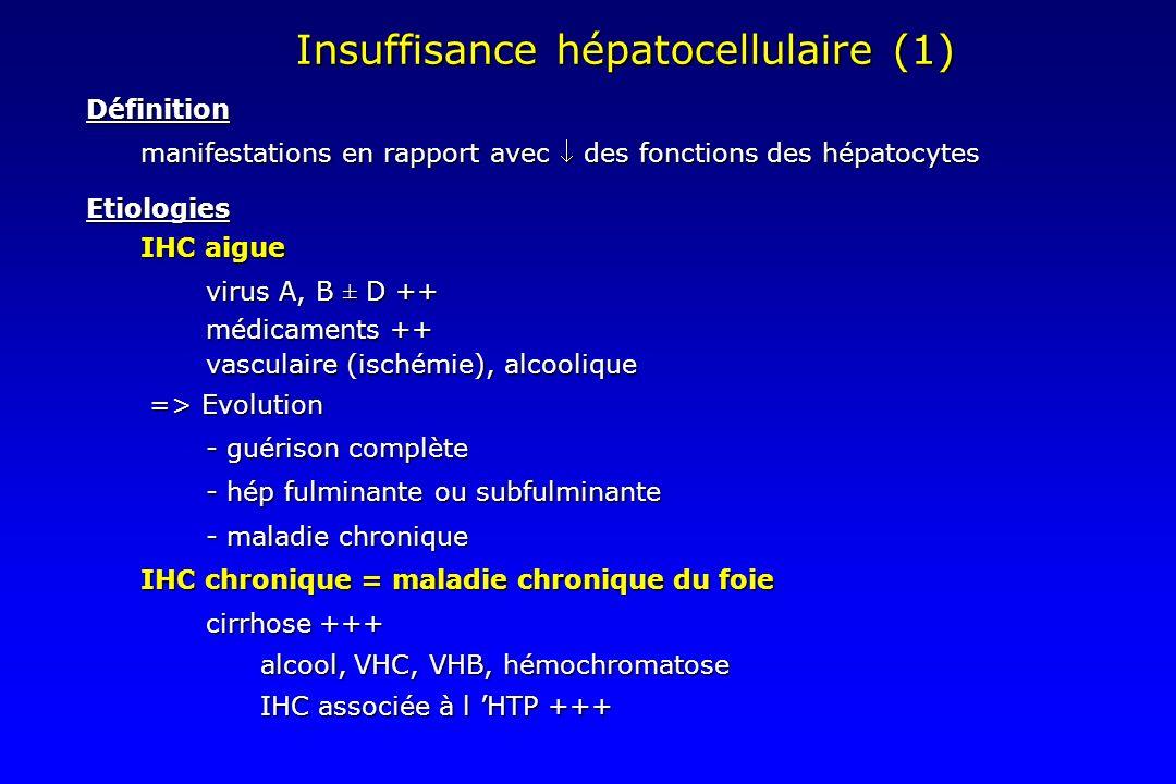 Insuffisance hépatocellulaire (1)
