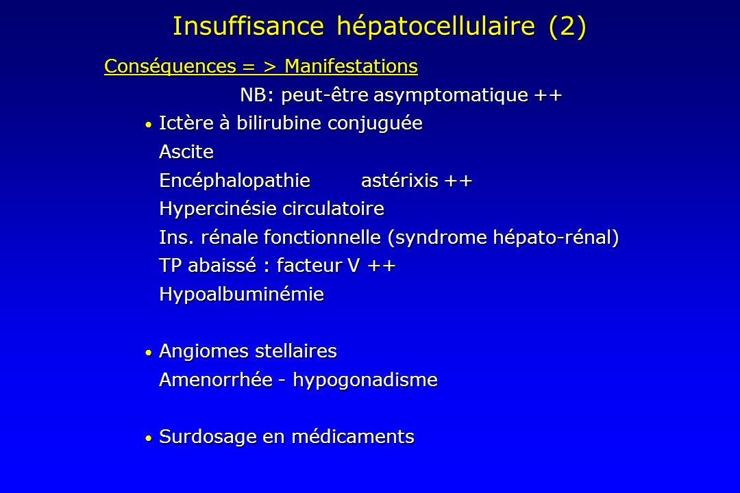 Insuffisance hépatocellulaire (2)