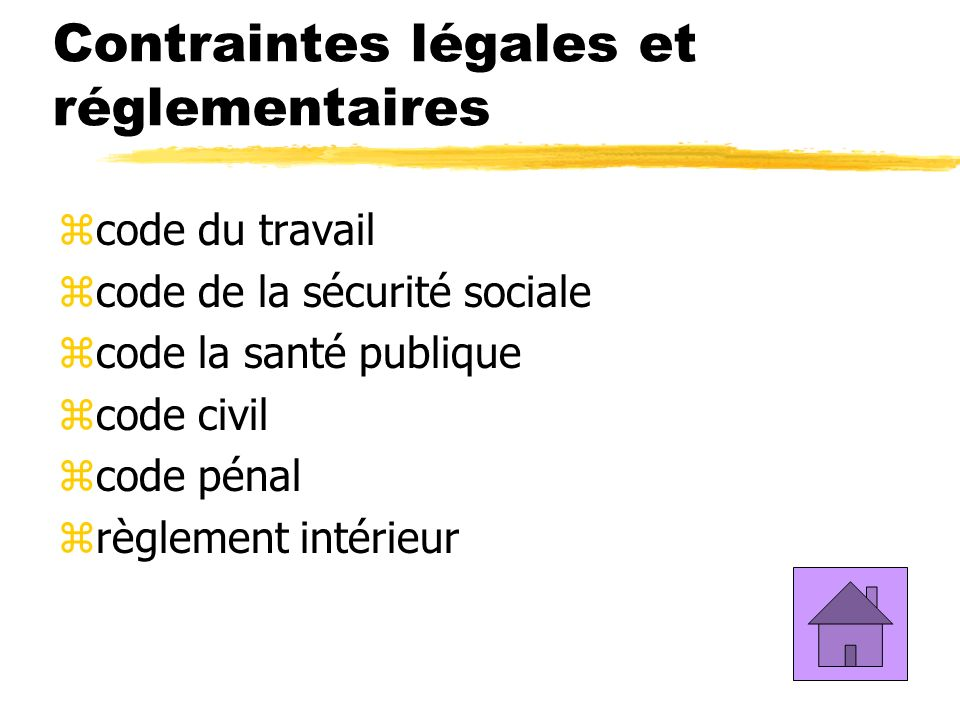 D finition de l ergonomie notion de contrainte et d for Definition du reglement interieur