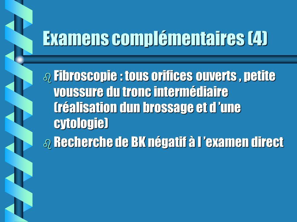 Examens complémentaires (4)