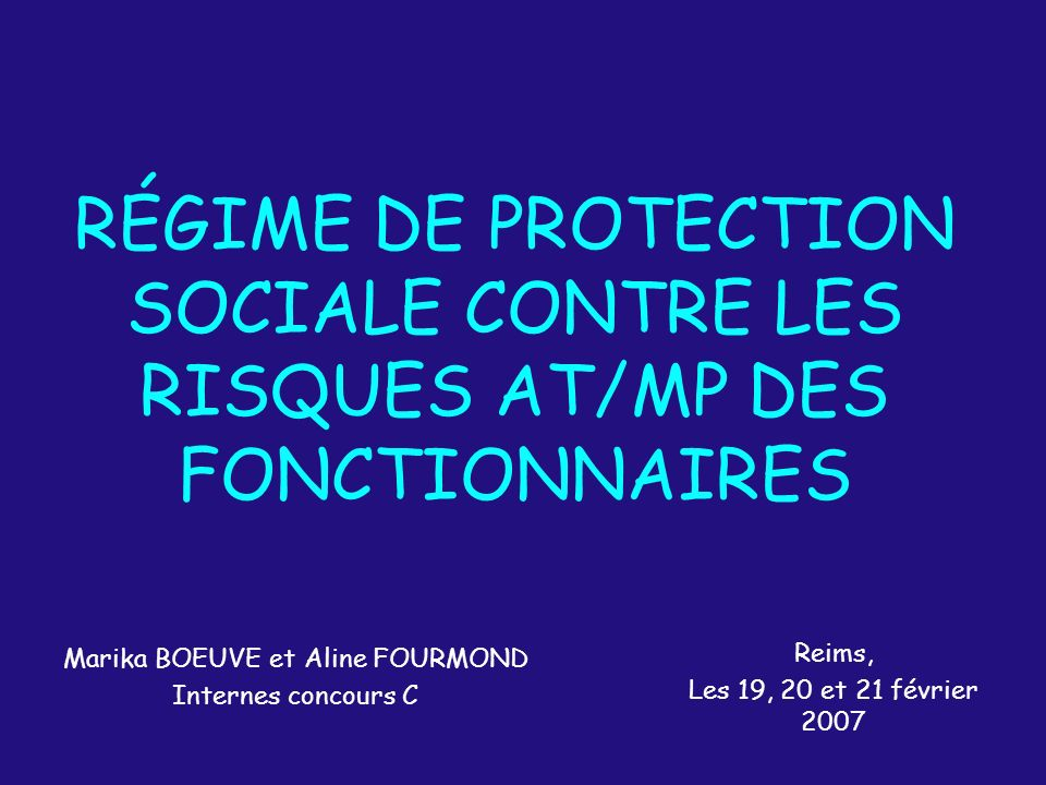 Marika BOEUVE et Aline FOURMOND Internes concours C