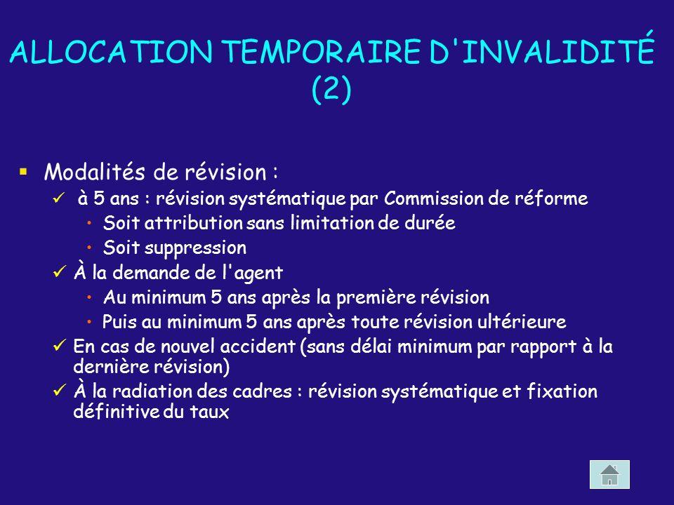 ALLOCATION TEMPORAIRE D INVALIDITÉ (2)