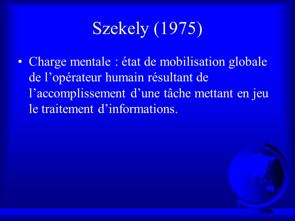 Szekely (1975)