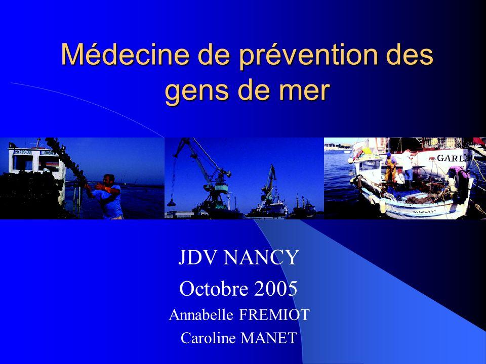 Médecine de prévention des gens de mer