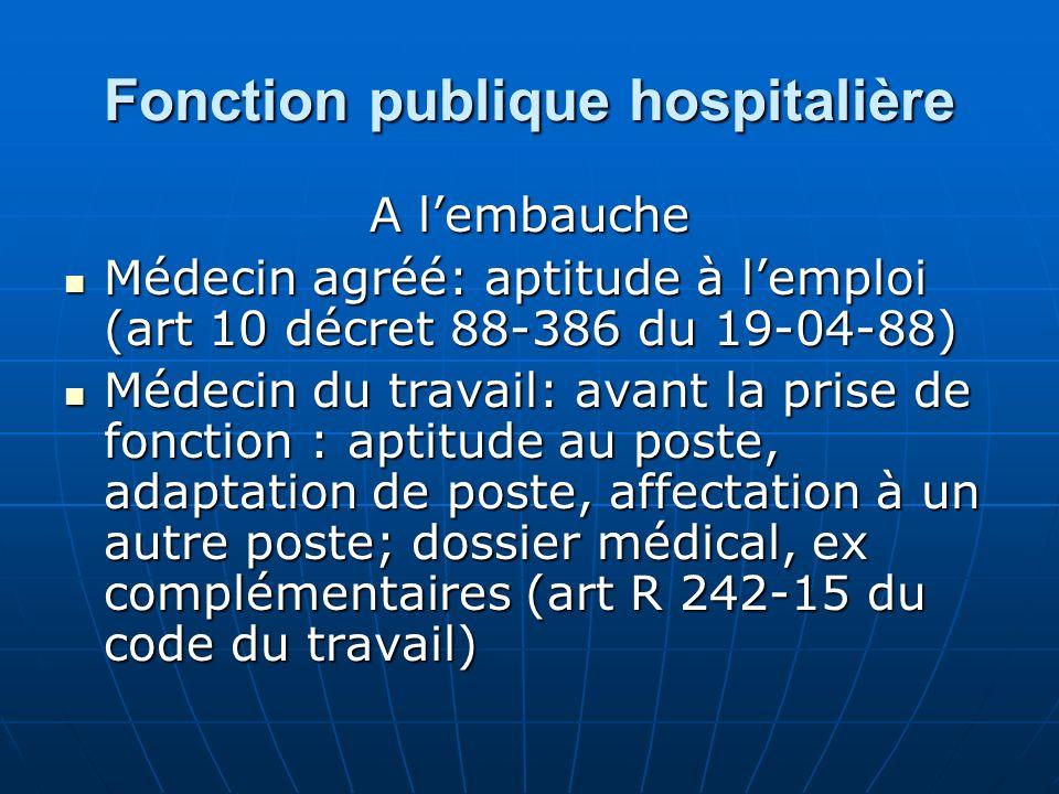 Fonction publique hospitalière