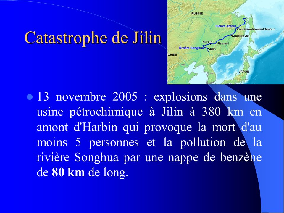 Catastrophe de Jilin