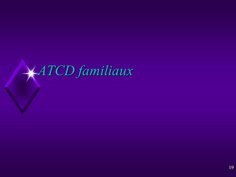 ATCD familiaux