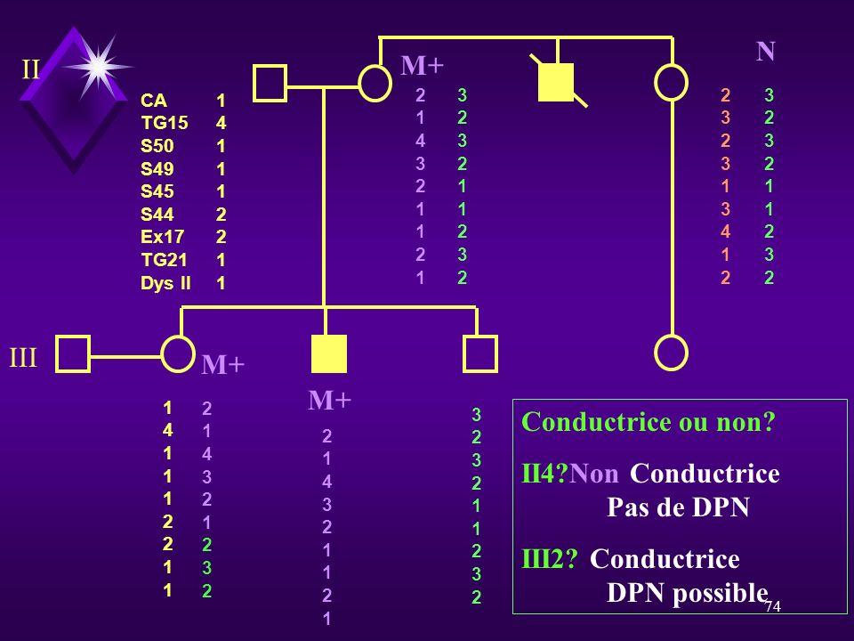 II4 Non Conductrice Pas de DPN
