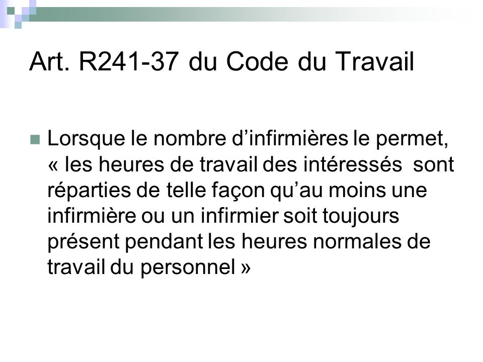Art. R241-37 du Code du Travail