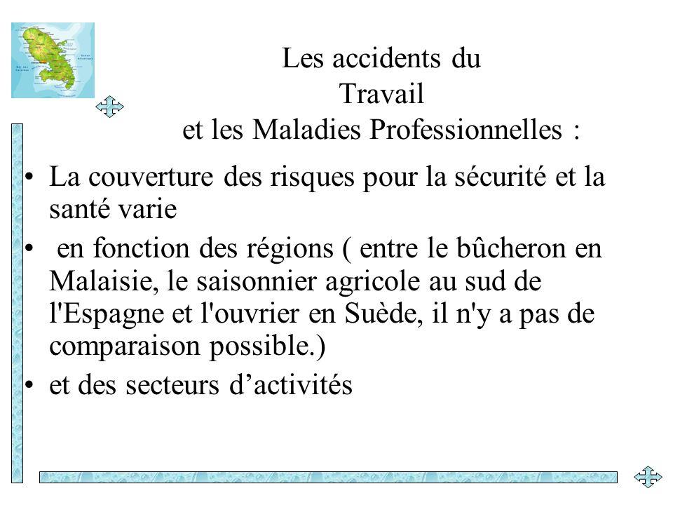 Les accidents du Travail et les Maladies Professionnelles :