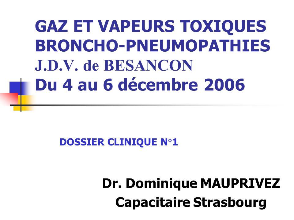 Dr. Dominique MAUPRIVEZ Capacitaire Strasbourg
