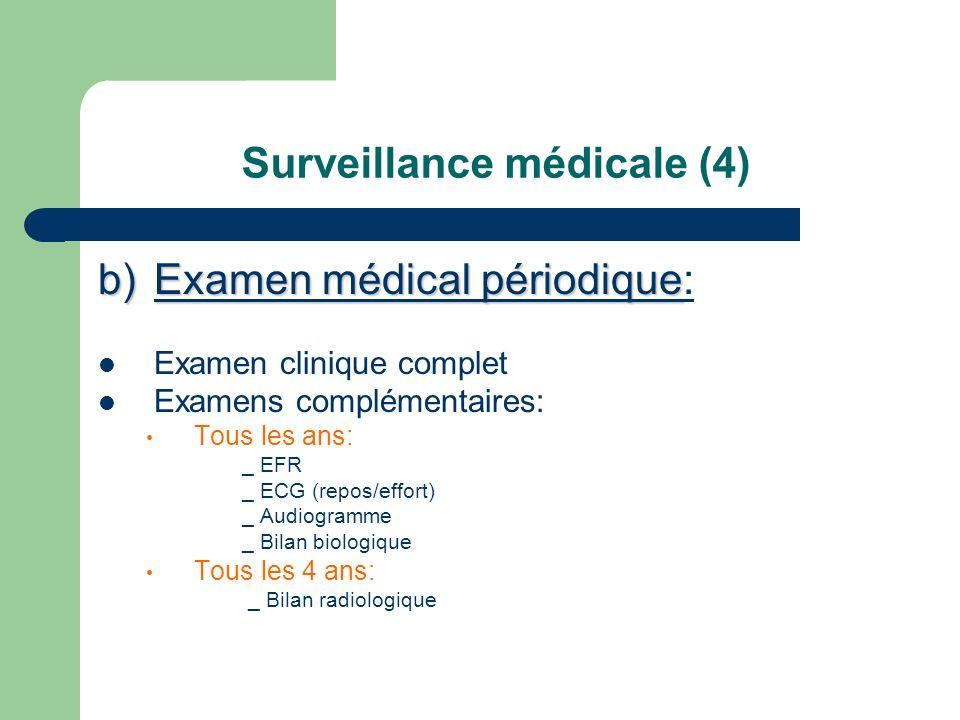 Surveillance médicale (4)