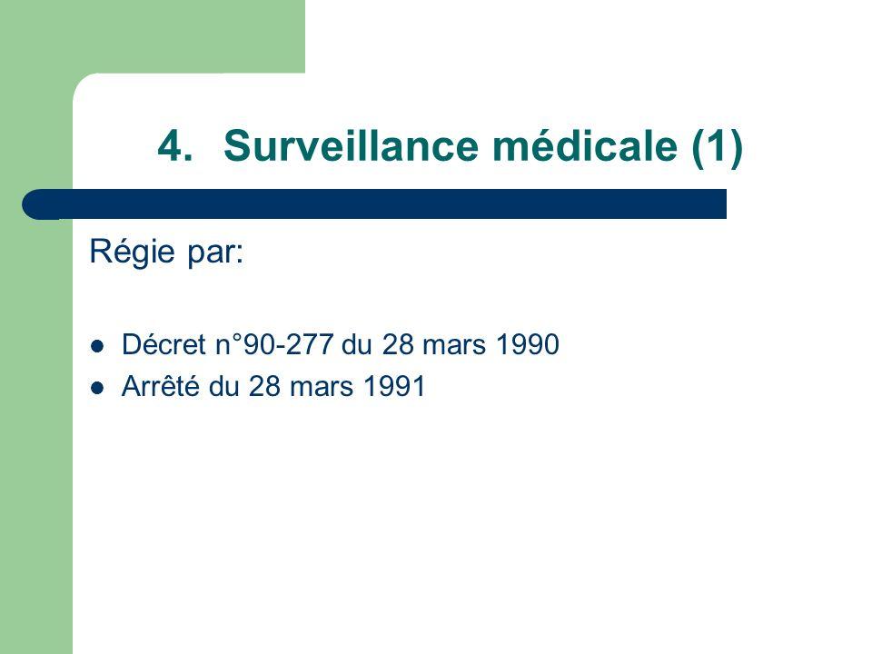 Surveillance médicale (1)