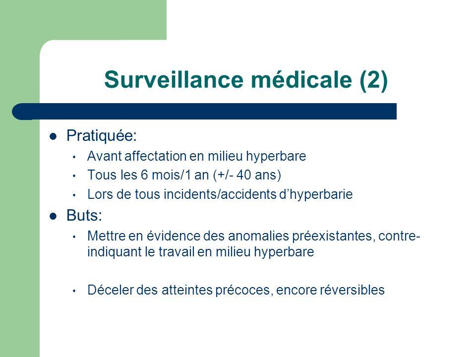 Surveillance médicale (2)
