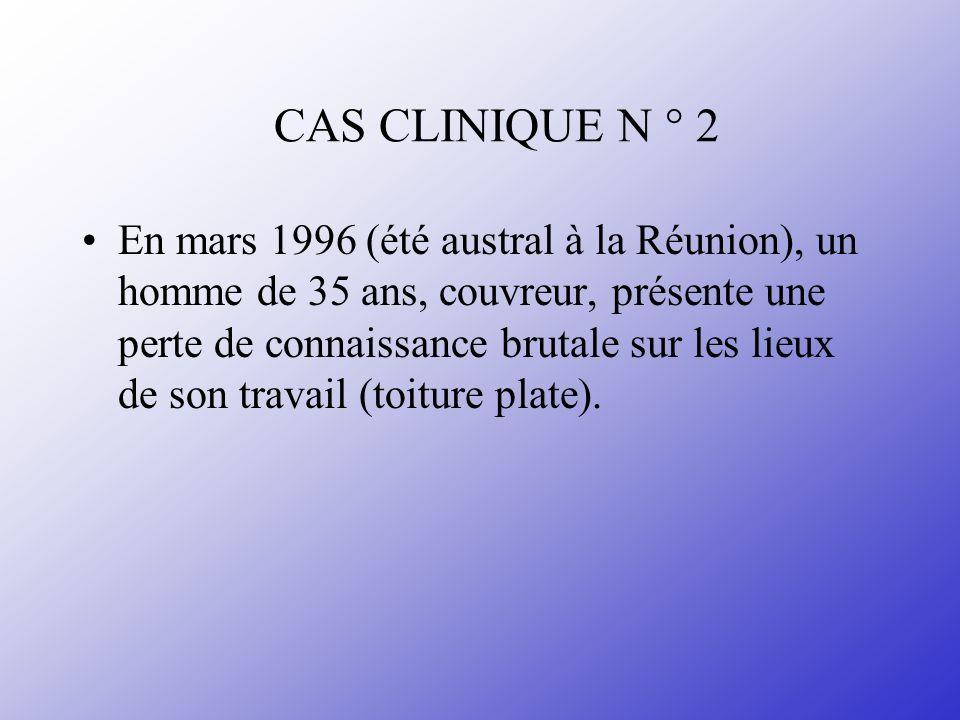 CAS CLINIQUE N ° 2