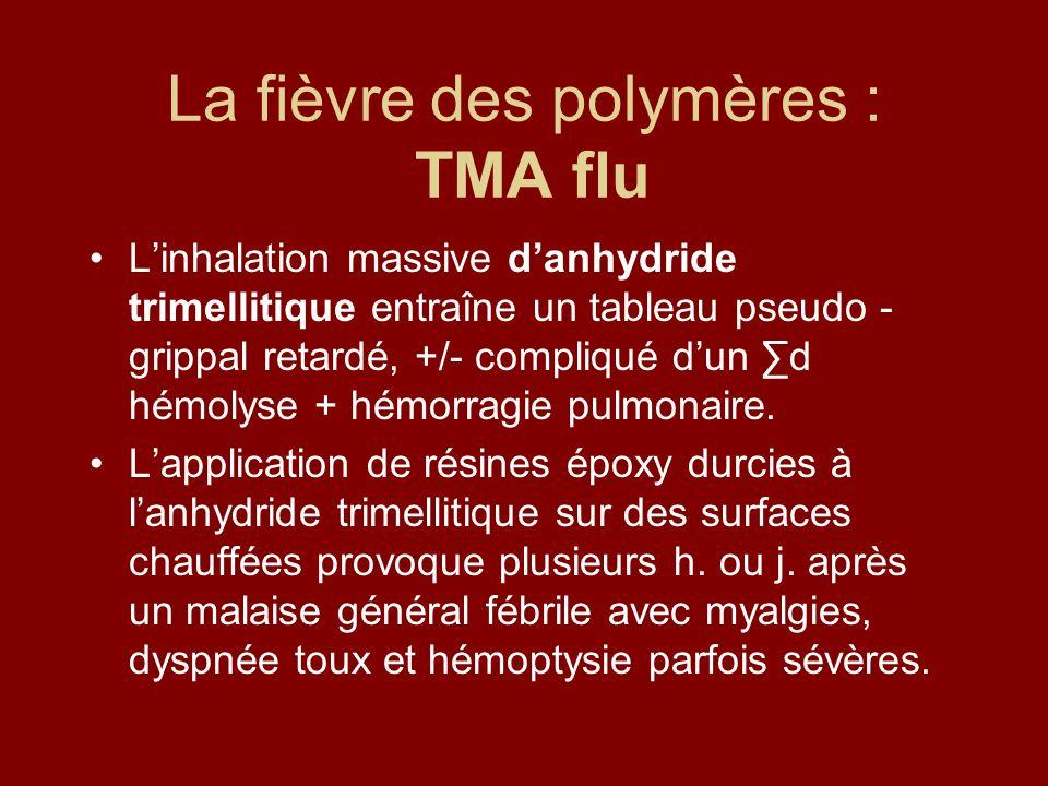 La fièvre des polymères : TMA flu