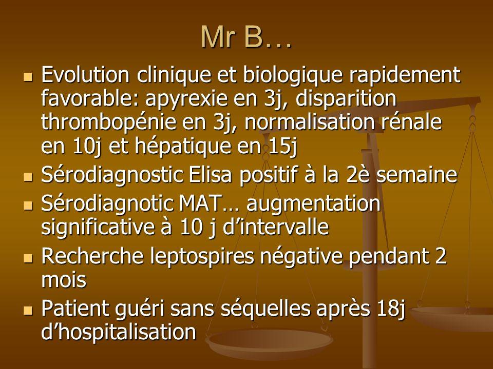 Mr B…