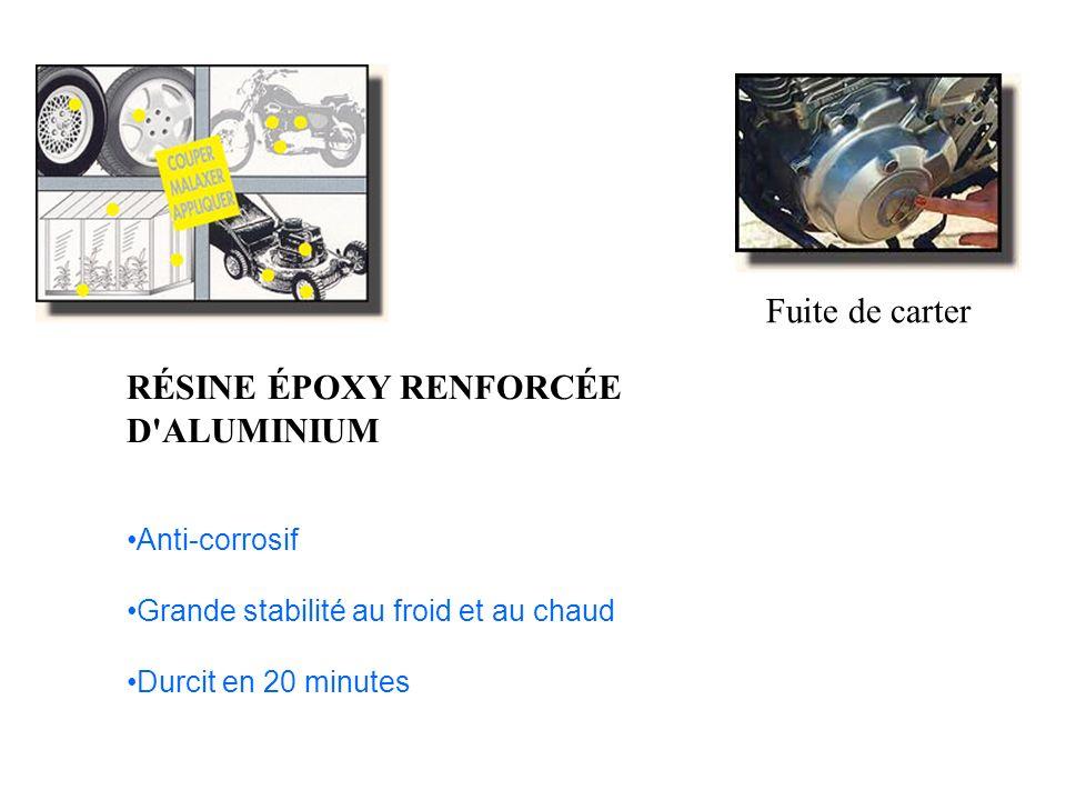 RÉSINE ÉPOXY RENFORCÉE D ALUMINIUM