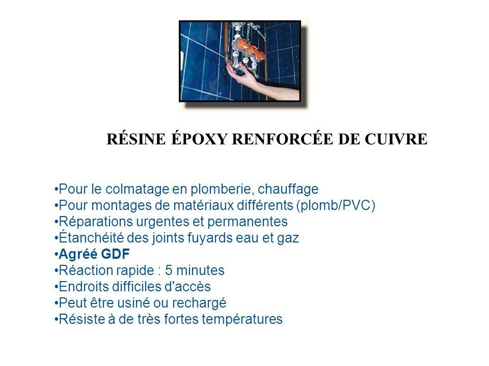 RÉSINE ÉPOXY RENFORCÉE DE CUIVRE