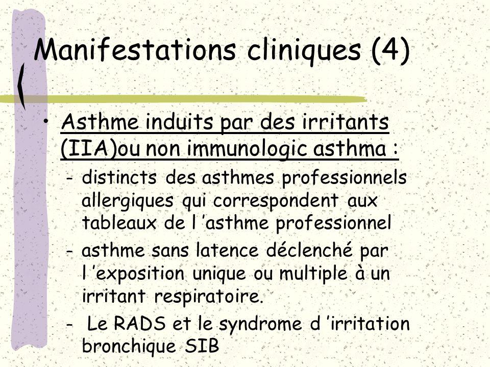 Manifestations cliniques (4)