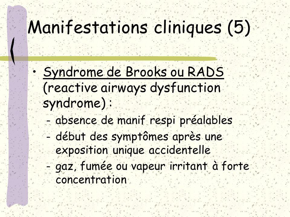 Manifestations cliniques (5)
