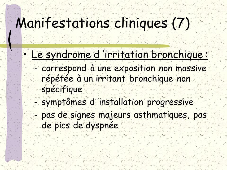 Manifestations cliniques (7)