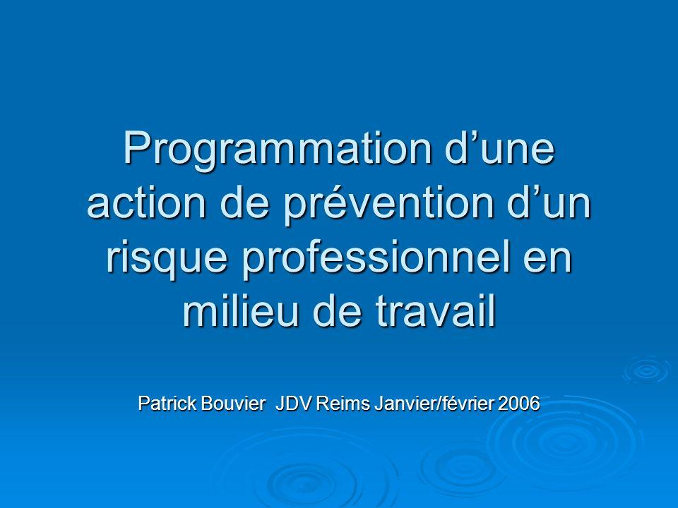 Patrick Bouvier JDV Reims Janvier/février 2006