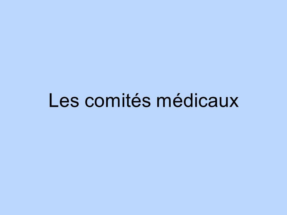 Les comités médicaux