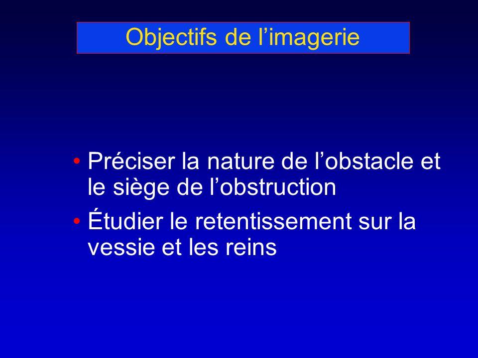 Objectifs de l'imagerie