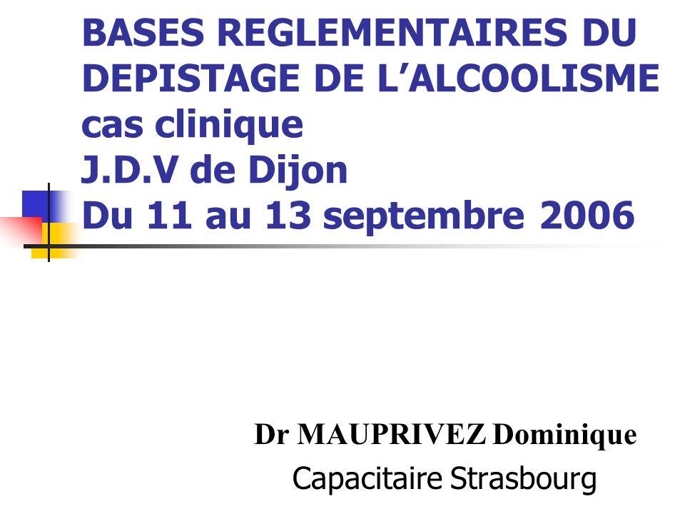 Dr MAUPRIVEZ Dominique Capacitaire Strasbourg