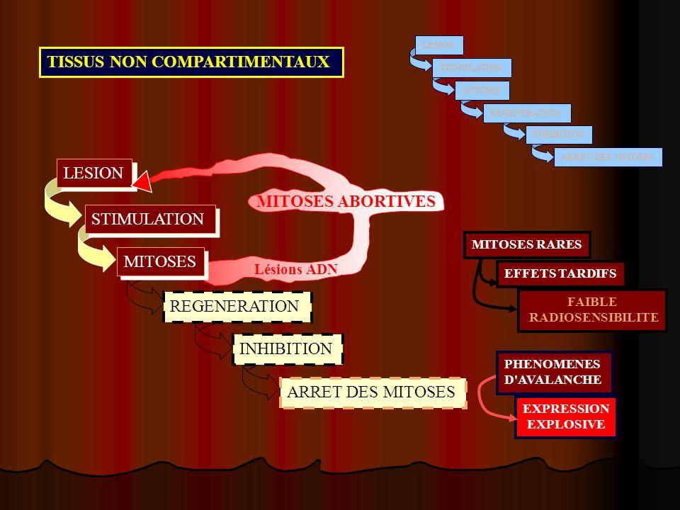 TISSUS NON COMPARTIMENTAUX