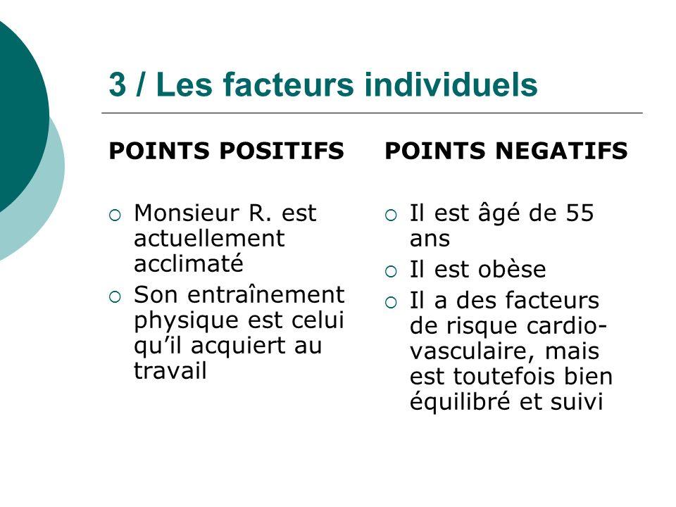 3 / Les facteurs individuels