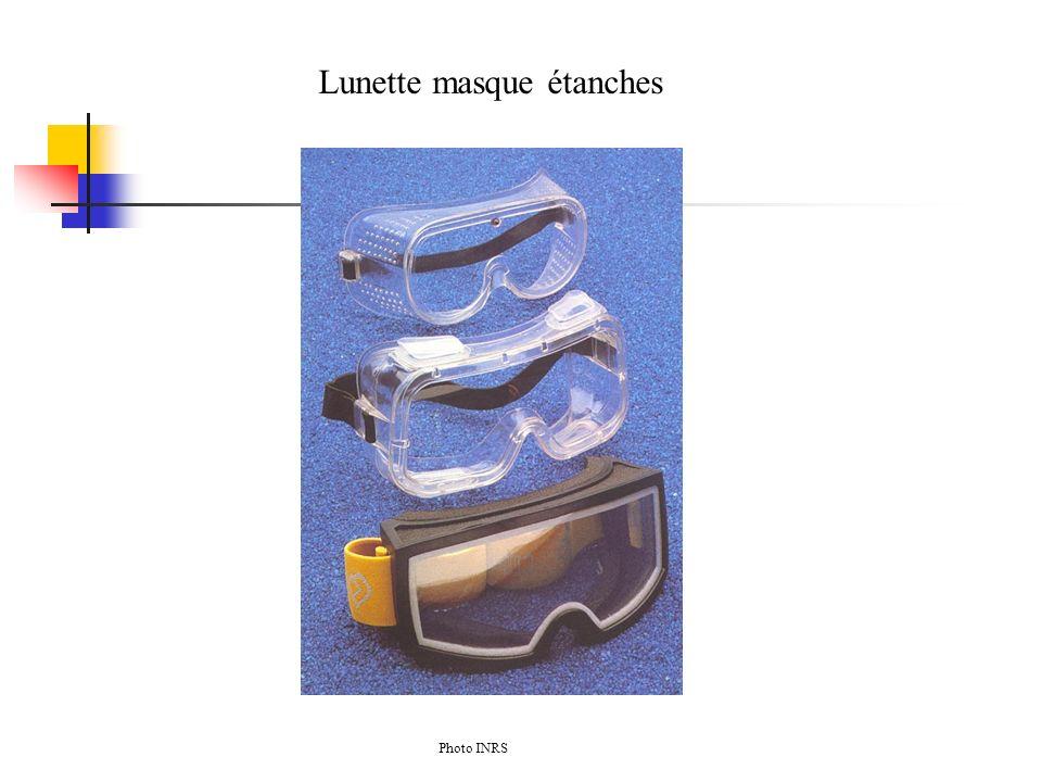 Lunette masque étanches