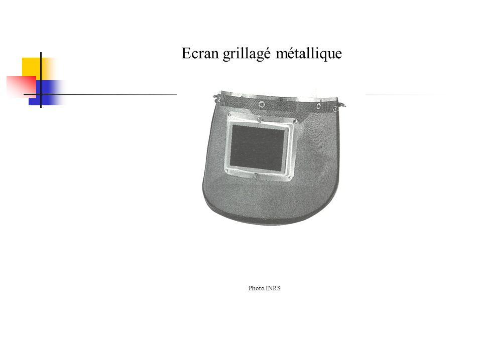 Ecran grillagé métallique