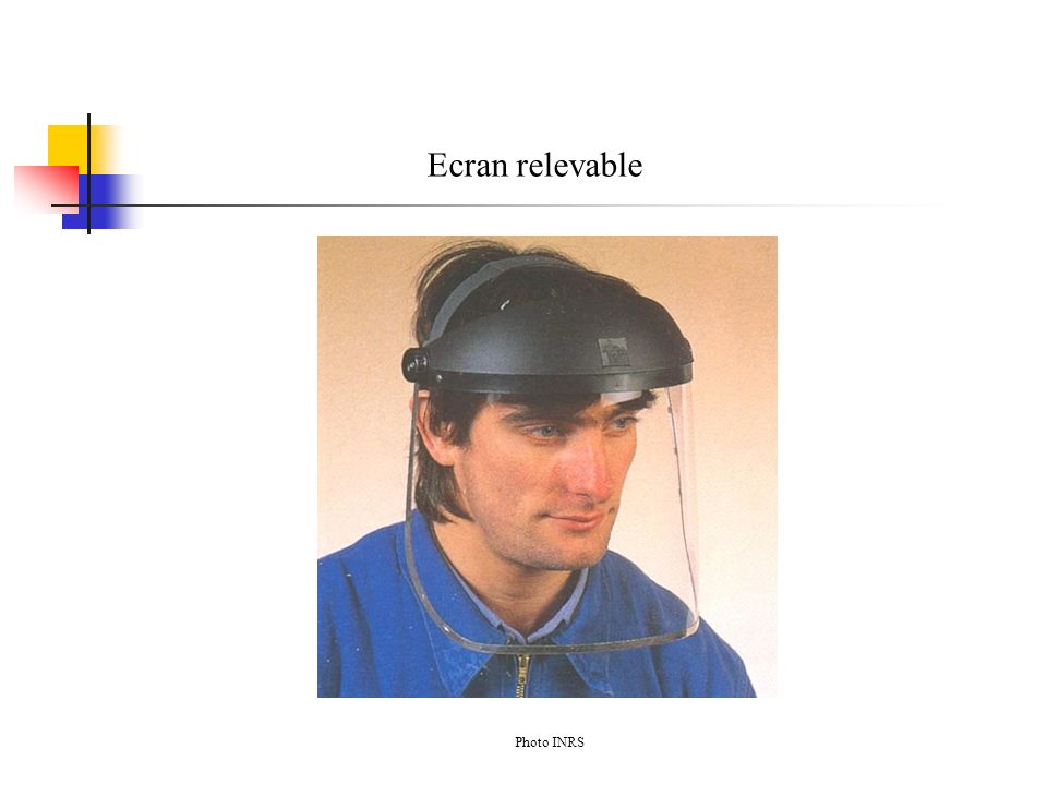 Ecran relevable Photo INRS