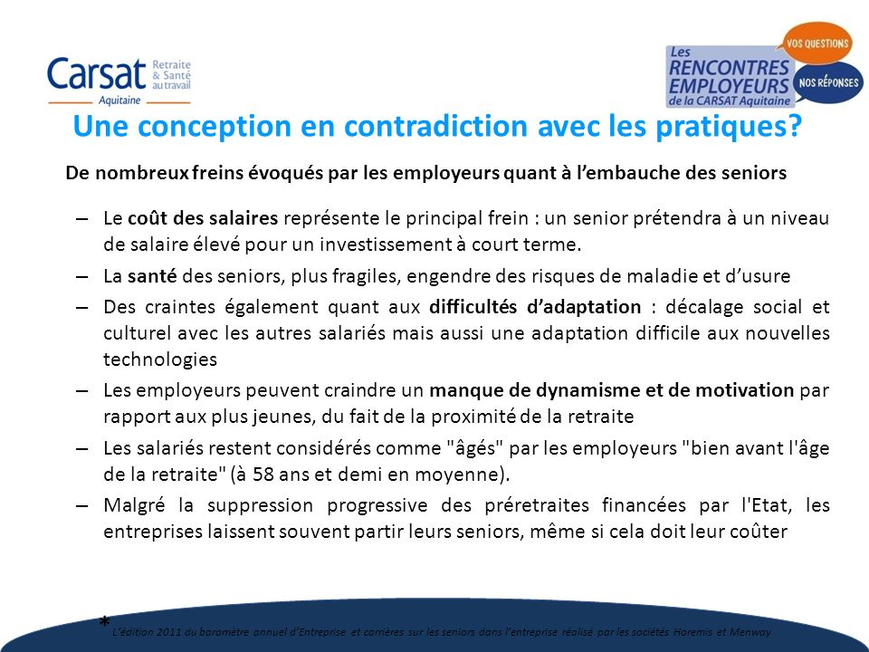 Une conception en contradiction avec les pratiques