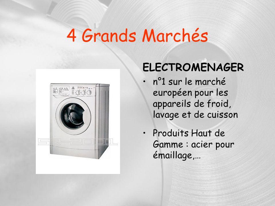 4 Grands Marchés ELECTROMENAGER