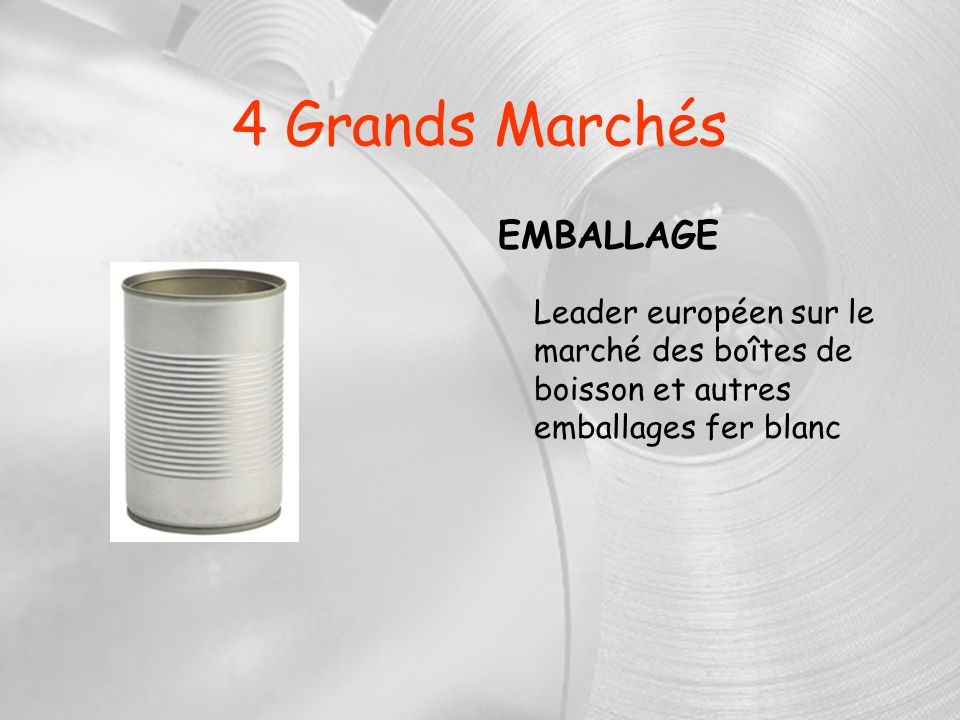 4 Grands Marchés EMBALLAGE