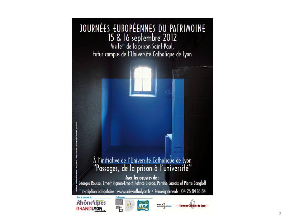 Présentation du projet de reconversion des prisons Saint-Paul et Saint-Joseph