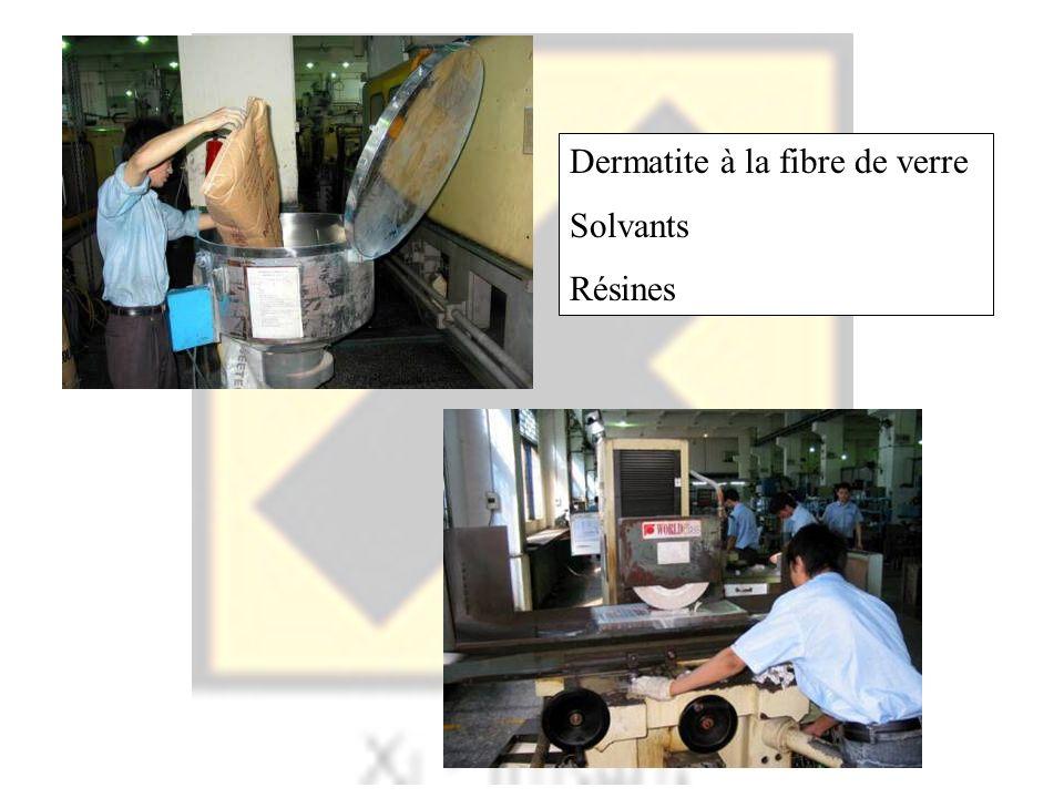 Dermatite à la fibre de verre