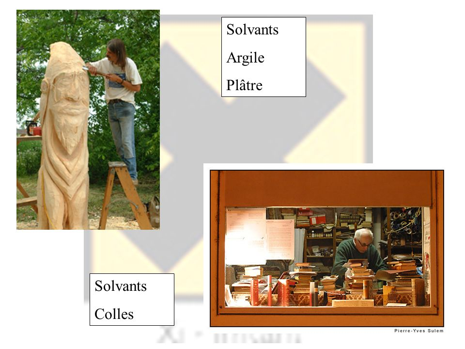 Solvants Argile Plâtre Solvants Colles