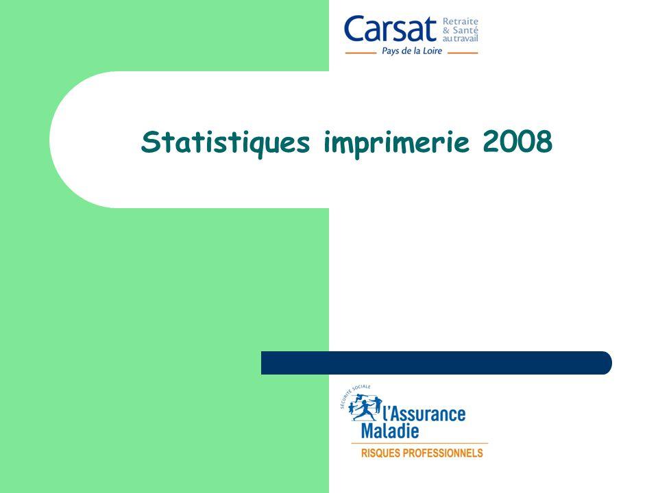 Statistiques imprimerie 2008