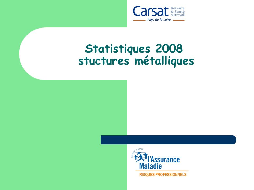 Statistiques 2008 stuctures métalliques