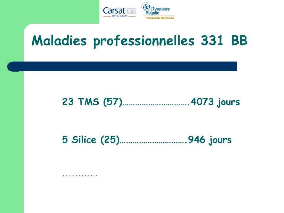 Maladies professionnelles 331 BB