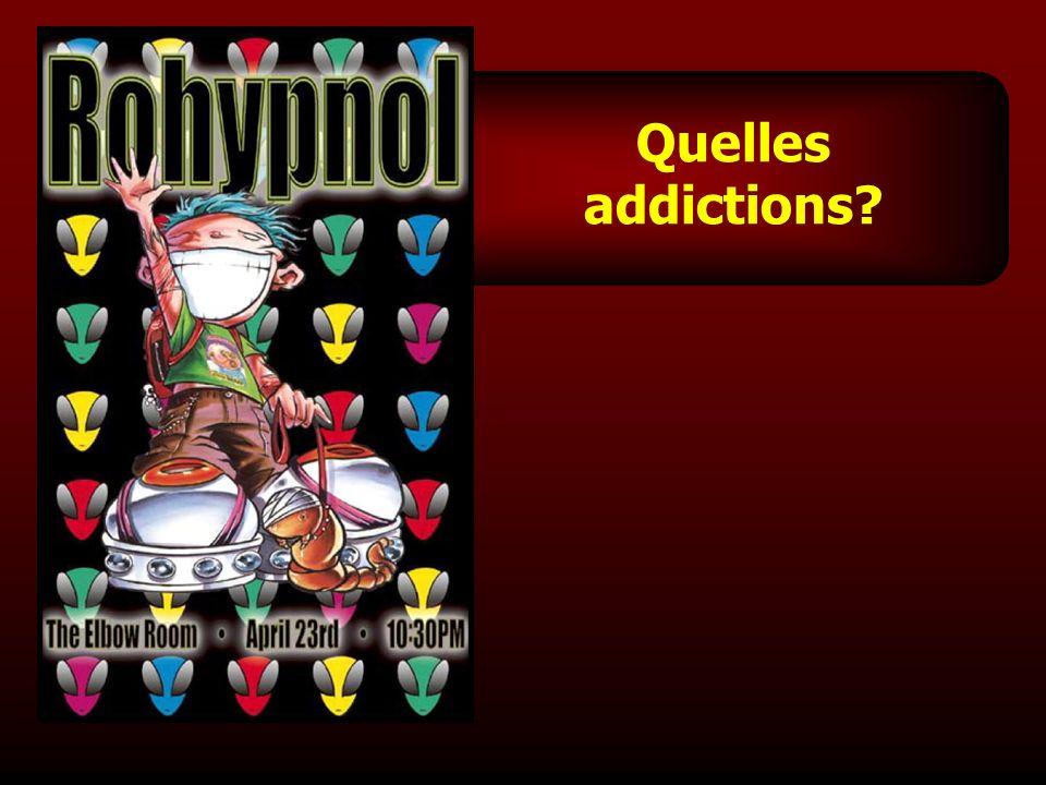 Quelles addictions